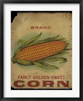 Framed Vintage Corn