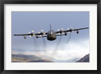 Framed MC-130P Combat Shadow Over Scotland