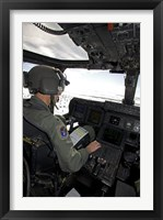 Framed Pilot in a CV-22 Osprey
