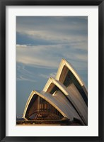 Framed Australia, Sydney, Early Light on Sydney Opera House