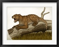 Framed Thylacoleo Carnifex