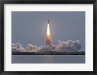 Framed Launch of Space Shuttle Atlantis