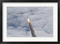 Framed Final Launch of Space Shuttle Atlantis