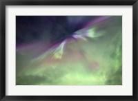 Framed Aurora Borealis and Big Dipper Burst, Canada