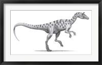 Framed Cryolophosaurus Elliotti