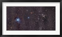 Framed Iris Nebula in Cepheus
