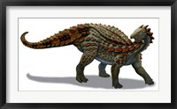 Framed Scelidosaurus Dinosaur of the Early Jurassic Period