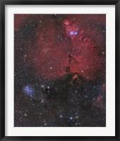 Framed Nebula in Monoceros
