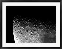 Framed Lunar Craters Clavius, Moretus, and Maginus