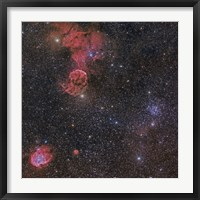 Framed Nebulae in Gemini Constellation
