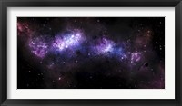 Framed Massive Nebula