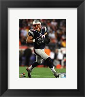 Framed Rob Gronkowski Patriots Football