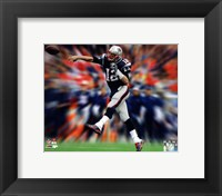 Framed Tom Brady Motion Blast
