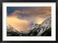 Framed Sunrise at Aoraki Mount Cook, New Zealand