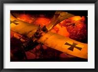 Framed War Plane, Blenheim, Marlborough, New Zealand