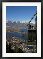 Framed Gondola, Queenstown, South Island, New Zealand