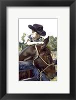 Framed Cowboy