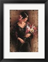 Framed Las Flores