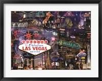 Framed Vegas Baby