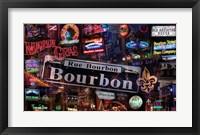 Framed Bourbon Street