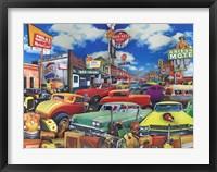 Framed Cowboy Town - Rainbelt