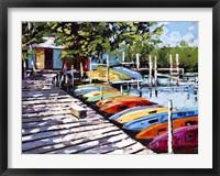 Framed Kayak Dock