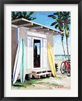Framed Longboard Shack