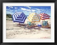 Framed Spring Beach