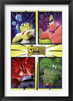 Framed SpongeBob 2 - Team