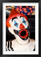 Framed Laughing Clown, Bay of Plenty, North Island, New Zealand