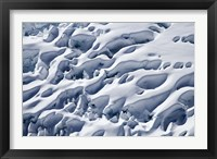 Framed Crevasses, Franz Josef Glacier, South Island, New Zealand