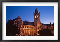 Framed Building at University of Otago, Dunedin, New Zealand