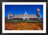 Framed Historic Railway Station, Dunedin, New Zealand