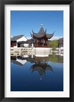 Framed Chinese Garden, Dunedin, Otago, South Island, New Zealand