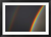 Framed Double Rainbow, Dunedin, Otago, South Island, New Zealand