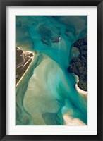 Framed Tidal Patterns, Awaroa Inlet, South Island, New Zealand