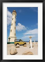 Framed California Lighthouse, Oranjestad, Aruba