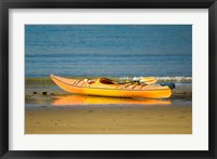 Framed New Zealand, South Island, Titirangi Bay, Kayaking