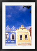 Framed Dutch Architecture, Oranjestad, Aruba