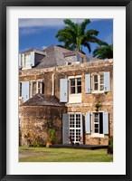 Framed Nelson's Dockyards, Antigua, West Indies, Caribbean