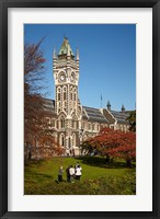 Framed Graduation photos at University of Otago, Dunedin, South Island, New Zealand
