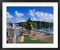Framed Copper and Lumber Store, Antigua, Caribbean