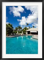 Framed Carlisle Bay Hotel, Antigua, West Indies, Caribbean