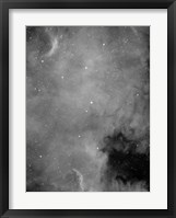 Framed North America Nebula