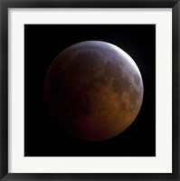 Framed Lunar Eclipse (square)