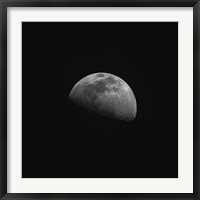 Framed Gibbous Moon