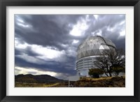 Framed Hobby-Eberly Telescope Observatory Dome at McDonald Observatory