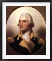 Framed George Washington (digitally restored)