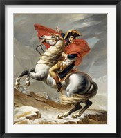 Framed Napoleon Bonaparte on his Horse