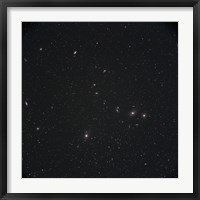 Framed Markarian's Chain Galaxies